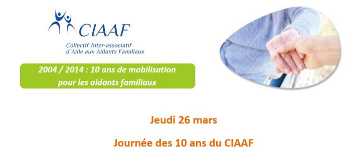 Le CIAAF organise une journée « Aidant familial : de l'invisibilité à la reconnaissance – Les avancées depuis 10 ans et les enjeux de la représentation »